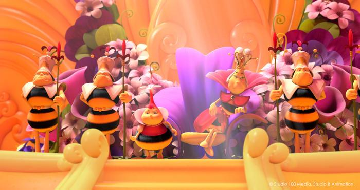La Abeja Maya: Los juegos de la Miel imagen 5