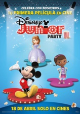Cartel Disney Junior Party