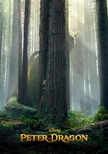 Cartel Peter y el dragón