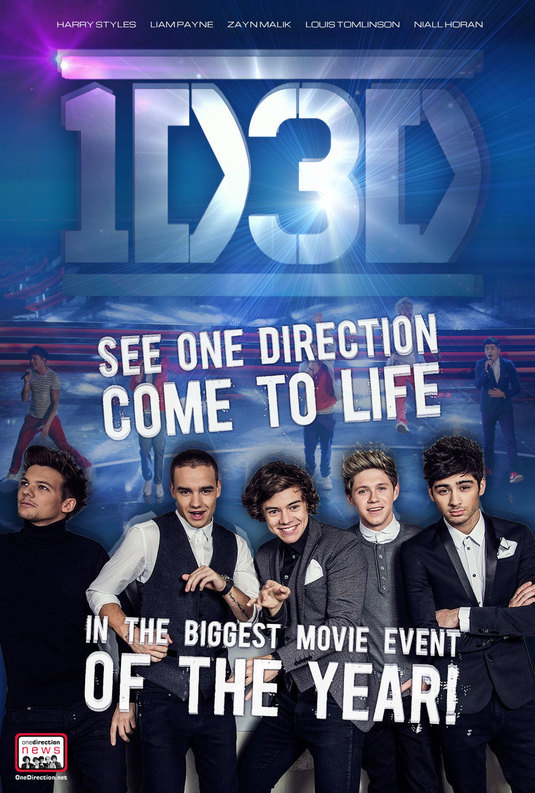 One Direction 3D imagen 2