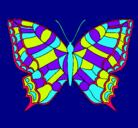 Dibujo Mariposa pintado por NATALIA