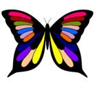Dibujo Mariposa pintado por arely