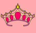 Dibujo Tiara pintado por barbie