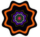 Dibujo Mandala 46 pintado por ruth...