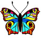 Dibujo Mariposa  pintado por karla