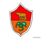 Dibujo Escudo romano pintado por gabriel
