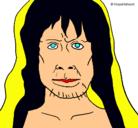 Dibujo Homo Sapiens pintado por desiree.6