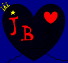 Dibujo Corazón 9 pintado por sony