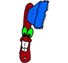 Dibujo Cepillo de dientes pintado por madonita