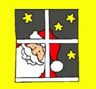 Dibujo Papa Noel pintado por Victorious