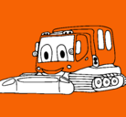 Dibujo Excavadora pintado por Victorious
