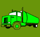 Dibujo Camión cisterna pintado por Victorious