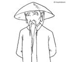 Dibujo Chino pintado por beat