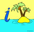 Dibujo Isla pintado por Camila_