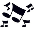 Dibujo Notas musicales pintado por 13miguel