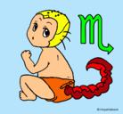 Dibujo Escorpión pintado por Cricri