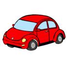 Dibujo Automóvil moderno pintado por carro