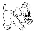 Dibujo Perrito pintado por MartaLaura