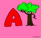 Dibujo Árbol pintado por violeta_1000