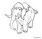 Dibujo Mamut II pintado por 12354hilo}