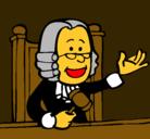 Dibujo Juez pintado por juez1