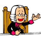 Dibujo Juez pintado por alessan