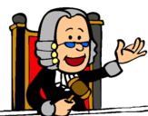 Dibujo Juez pintado por luzdedia