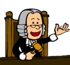 Dibujo Juez pintado por silviaa