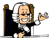 Dibujo Juez pintado por hjhd