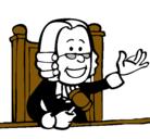 Dibujo Juez pintado por yosnelly