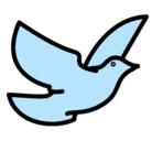 Dibujo Paloma de la paz pintado por weria