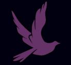 Dibujo Paloma de la paz al vuelo pintado por nicollllllll