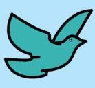 Dibujo Paloma de la paz pintado por adrijh6