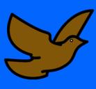 Dibujo Paloma de la paz pintado por mariapm