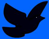 Dibujo Paloma de la paz pintado por sayenyc