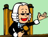 Dibujo Juez pintado por jali