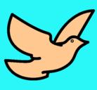 Dibujo Paloma de la paz pintado por NORLY