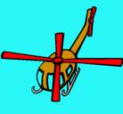 Dibujo Helicóptero V pintado por rios