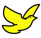 Dibujo Paloma de la paz pintado por avesita