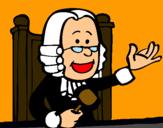Dibujo Juez pintado por miguichoucho
