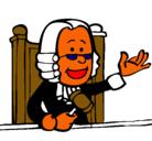 Dibujo Juez pintado por GARZON