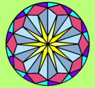 Dibujo Mandala 42 pintado por evitas