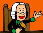 Dibujo Juez pintado por Adelpho