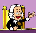Dibujo Juez pintado por juezzzz
