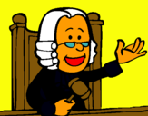 Dibujo Juez pintado por natxo