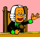 Dibujo Juez pintado por 1233241