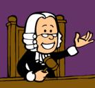 Dibujo Juez pintado por troyano
