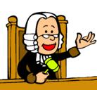 Dibujo Juez pintado por 12304587690