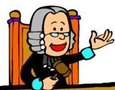 Dibujo Juez pintado por fhgyfbsshdgf
