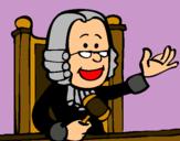 Dibujo Juez pintado por juanma24